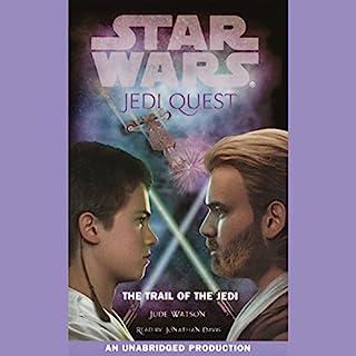 Star Wars: Jedi Quest, Book 2: The Trail of the Jedi audiobook cover art
