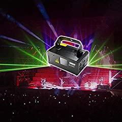 Light Color: Red,Green,Blue; Light Effect: Beam effective Item Model: DM-RGB400 ; Mode Control: Remote Control, AUTO, Sound Activated,DMX512 Control Professional laser light:Connect the DMX controller control, control the lighting effect more fit par...