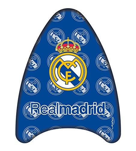 John - Tabla de natación Kick board Real Madrid, 42 cm, aprender a nadar y diversión con las olas (Simba 79526)