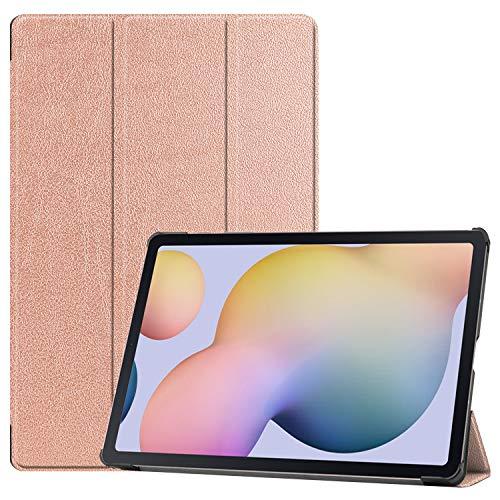 Lobwerk Hülle für Samsung Galaxy S7 Plus Tab S T970 T975 12.4 Zoll Smart Cover Etui mit Standfunktion & Auto Sleep/Wake Funktion Bronze