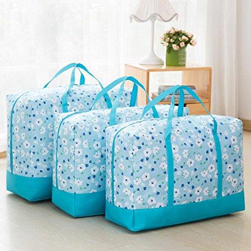 Xuan - Worth Another Motif Floral Bleu Les courtepointes contiennent Le Sac de Finition Un Sac de couettes vêtements résistant à l'humidité boîte de Finition Dazhong et Autres Petits