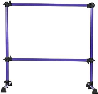 Stark Item 4' Portable Double Freestanding Ballet Barre Stretch Dance Bar Height Adjustable