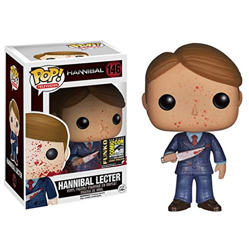 Funko Pop Television : Hannibal - Hannibal Lecter (Bloodstain Exclusive) 3.75inch Vinyl Gift for Suspense Fans SuperCollection