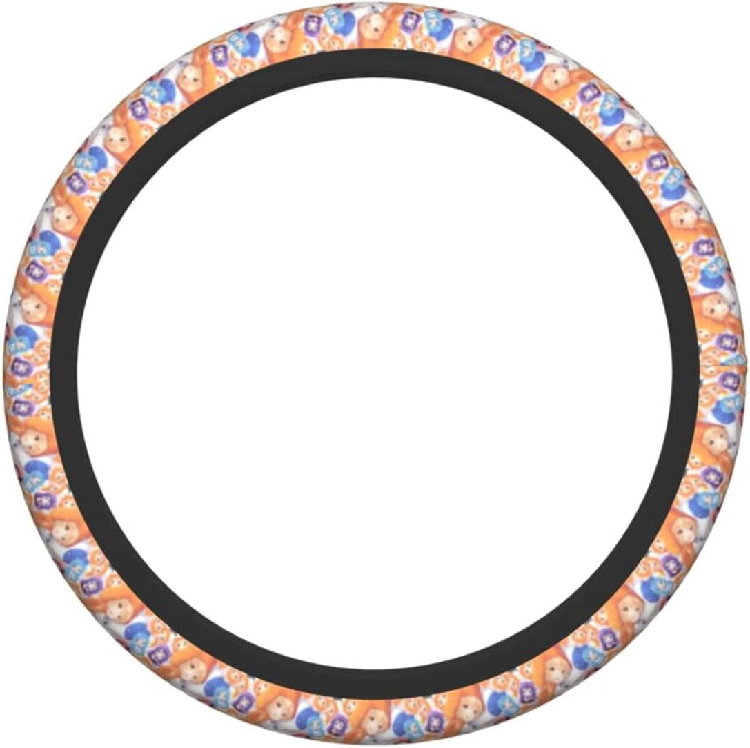 Popularity Hi-mo-ut-o Um-ar-u-ch-an Steering Wheel Cover Universal Excellent 15 inch