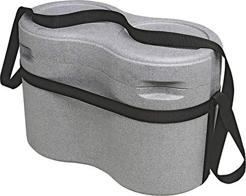 Decosa Getränkekühler Sixpack - inklusive Tragegurt - unterteilt - Maße: 21 x 40,5 x 28,5 cm