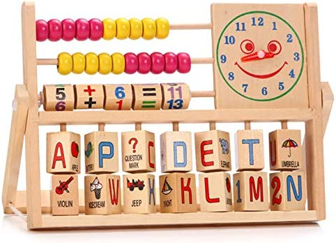 wastreake Wooden Counting Number Frame Wooden Abacus Children Kids Children Baby Learning Developmental product image