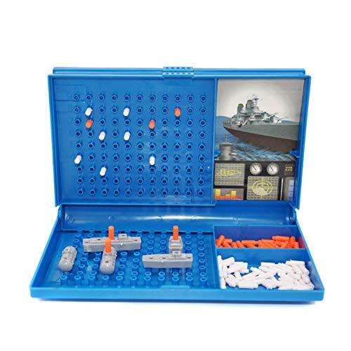 N/Z Juego de mesa de barco de lanzamiento, juego de mesa, puzzle, juego de ajedrez, juego de mesa de batalla marina, regalo / juguete para niños