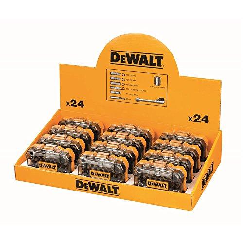 Dewalt DT71516M-QZ Juego de destornilladores de mostrador 12xDT71516M, Schwarz/Gelb