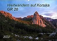 Weitwandern auf Korsika GR 20 (Wandkalender 2022 DIN A2 quer): GR 20 - Ein Weitwanderweg der Extraklasse, anspruchsvoll, unbeschreiblich schoen und unvergesslich! (Monatskalender, 14 Seiten )