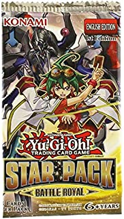 YuGiOh Card Game Star Pack Battle Royal Booster Pack (Yu-Gi-Oh)
