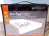 Dri-Tec 5.0 Moisture Wicking PERFORMANCE Mattress Protector (Queen)