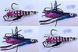 Esca Artificiale Pesca Vertical Jigging inchiku jigBarca Mare kabura kab dentice g. 100-150 Kit 4...
