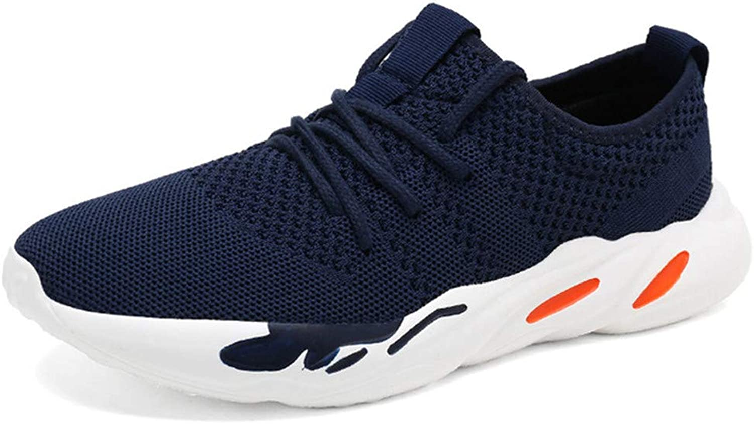 Männer leichte Athletic Turnschuhe Lace-Up Lace-Up Lace-Up Mesh Distance Running Schuhe  1ffd3f