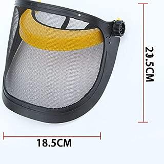 ELECTROPRIME Safety Face Helmet Shield Brushcutter Protection Garden Trim Mesh Full