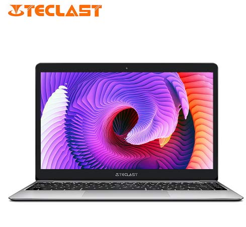 "Teclast F7 Plus Notebook 14.0"" Windows 10 Home Versión Intel Gemini Lake N4100 Quad Core de 1,1 GHz 6 GB RAM de 128 GB SSD de 2,0 MP Ordenador portátil"
