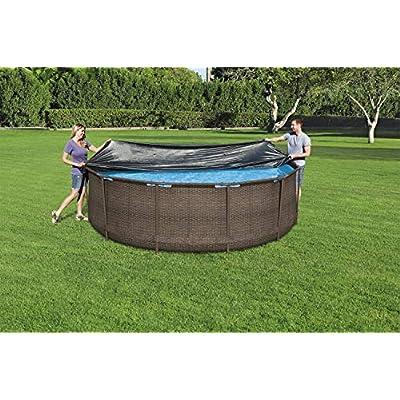 12 ft Black Bestway 58037-19 Flowclear Swimming Pool Cover
