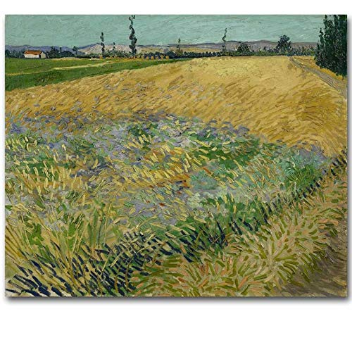 Olieverfschilderij canvas modern kunst schilderij indrukwekkende landschap olieverfschilderij binnendecoratie (zonder lijst) 24X28 Hello Friend Reduce
