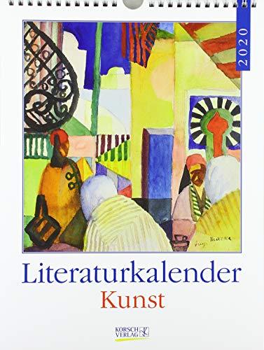 Literaturkalender Kunst 2020: Literarischer Wochenkalender * 1 Woche 1 Seite * literarische Zitate...