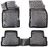 Elmasline Design - Set di tappetini in gomma 3D per Dacia Duster dal 2018, bordo extra alto 5 cm, anno di costruzione: 2019, 2020, & 2021