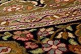 Lifetex.eu Teppich Ghom Seide Kaschmir ca. 195 cm rund Braun handgeknüpft Seide Klassisch hochwertiger Teppich - 4