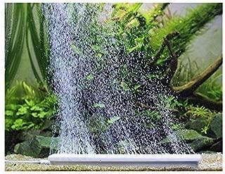 aquarium air stone bar fish tank air diffuser with air control valve, silent and subtle..