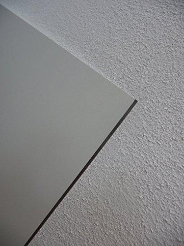 Alt-intech® HL gevelplaat, balkonplaat, verschillende maten en kleuren, inclusief accessoires 1000 x 250 x 6 mm Porzellan weiß