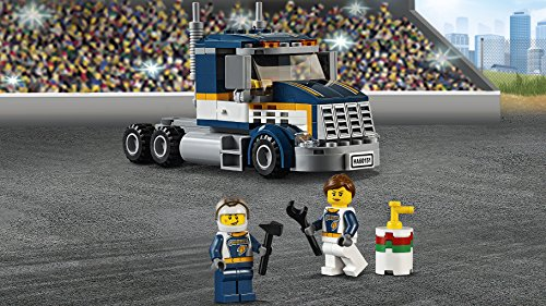 LEGO City Fahrzeuge 60151 Dragster-Transporter