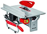Einhell Scie circulaire de table TC-TS 820 (800 W, 24 dents, Capacité de coupe 90°/45° : 43mm/35 mm, Dimensions du plateau : 500x335 mm, Raccord pour aspiration : à 36 mm, Lame de scie pivotante)
