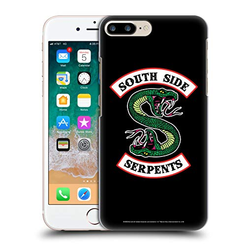 Official Riverdale South Side Serpents Graphic Art Hard Back Case Compatible for iPhone 7 Plus/iPhone 8 Plus