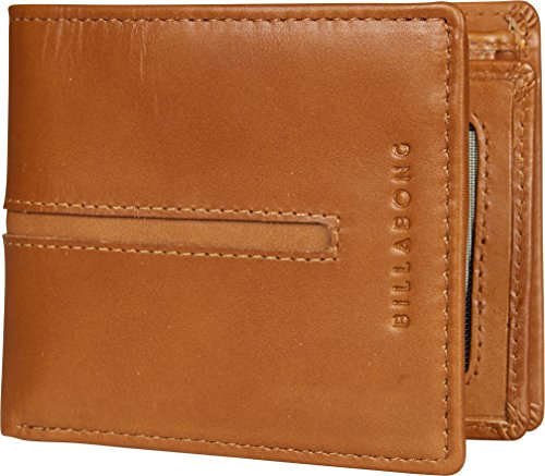 BILLABONG 2017 Empire Leather Wallet Tan Z5LW02