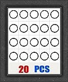 DZI 20 PCS AR 223/556 Free Float Handguard Rail Barrel Nut Washer Shims for 223/556 20 PCS Pack