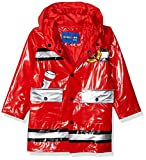 Wippette Baby Boys Water Resistant Rain Jacket, red, 12M