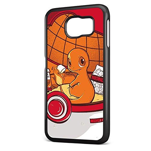 Be8eight Carcasa para teléfono con diseño de Pokémon Red House (Modelo: Carcasa para Samsung Galaxy S6)