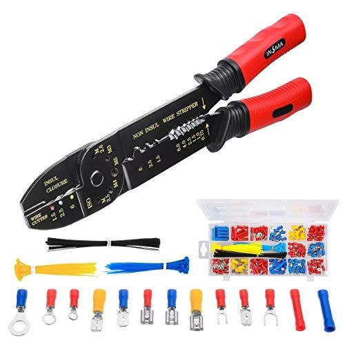 Handwerkzeug Zangen Kabel Abisolierzange Kabelschneider Crimper Zange Multifunktions-Stripping Tool Kit Handwerkzeug