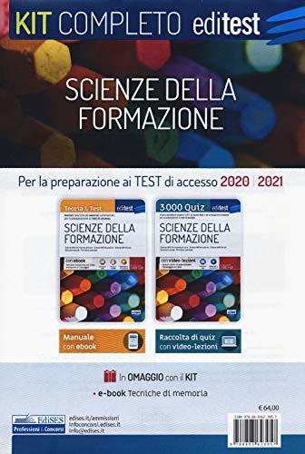 Test Scienze della Formazione Primaria. Per la preparazione ai test di ammissione 2020-2021