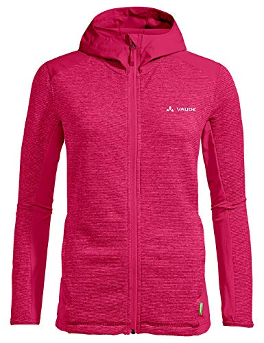 VAUDE Damen Jacke Women's Croz Fleece Jacket II, bramble, 44, 41899