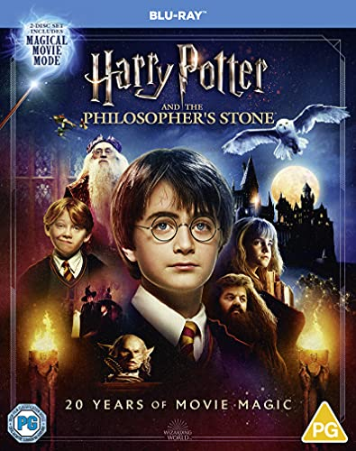 Harry Potter and the Philosopher's Stone: The Magical Movie Mode [20th Anniversary Edition] [Blu-ray] [2001] [Region Free]