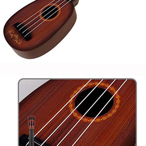 Mimagogo Puede jugar Simulación Mini Toy Ukulele Guitarra de ...