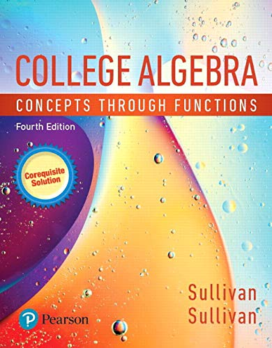 MyLab Math with Pearson eText -- 24-Month Standalone Access Card -- for College Algebra: Concepts through Functions, A C