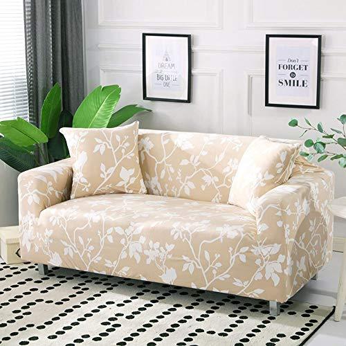 WXQY Funda de sofá elástica de algodón elástica con Todo Incluido Funda de sofá de Esquina Funda para Muebles de Sala de Estar Funda de sofá para Silla sofá Toalla A21 2 plazas