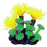 CIJK Artificial Submarino Coral Acuario Pecera Simulación Decoración Acuario Fondos Plantas Agua Hierba Accesorios Hogar (Color : C)