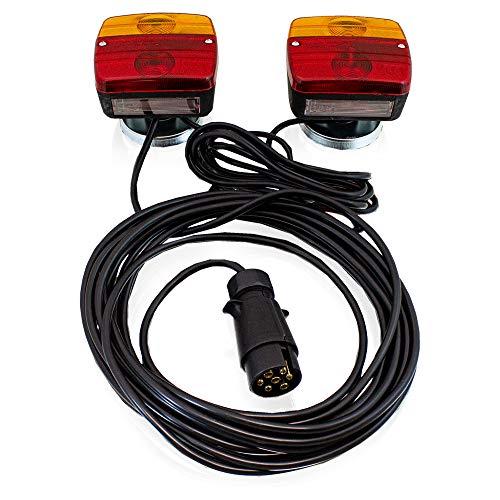 Bresetech Fahrzeug PKW KFZ Auto Anh/ängeradapter Kunststoff Adapter 12V Anh/ängerkupplung Adapterst/ück 13-polig auf 7-polig 7-polig auf 13-polig Fahrzeug 13-polig//Anh/änger ALT 7-polig