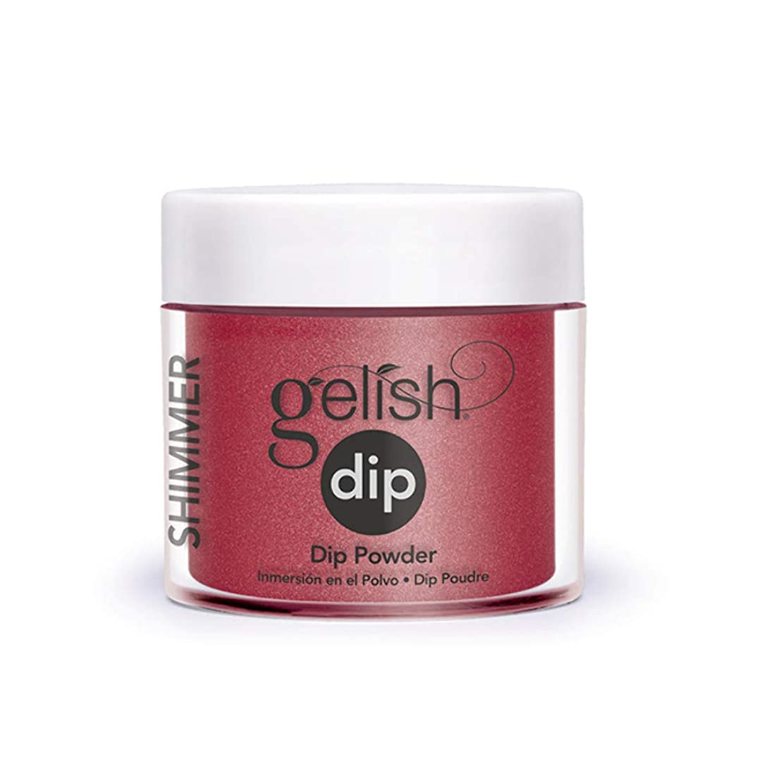 経歴エッセイ兄Harmony Gelish - Acrylic Dip Powder - Ruby Two-Shoes - 23g / 0.8oz