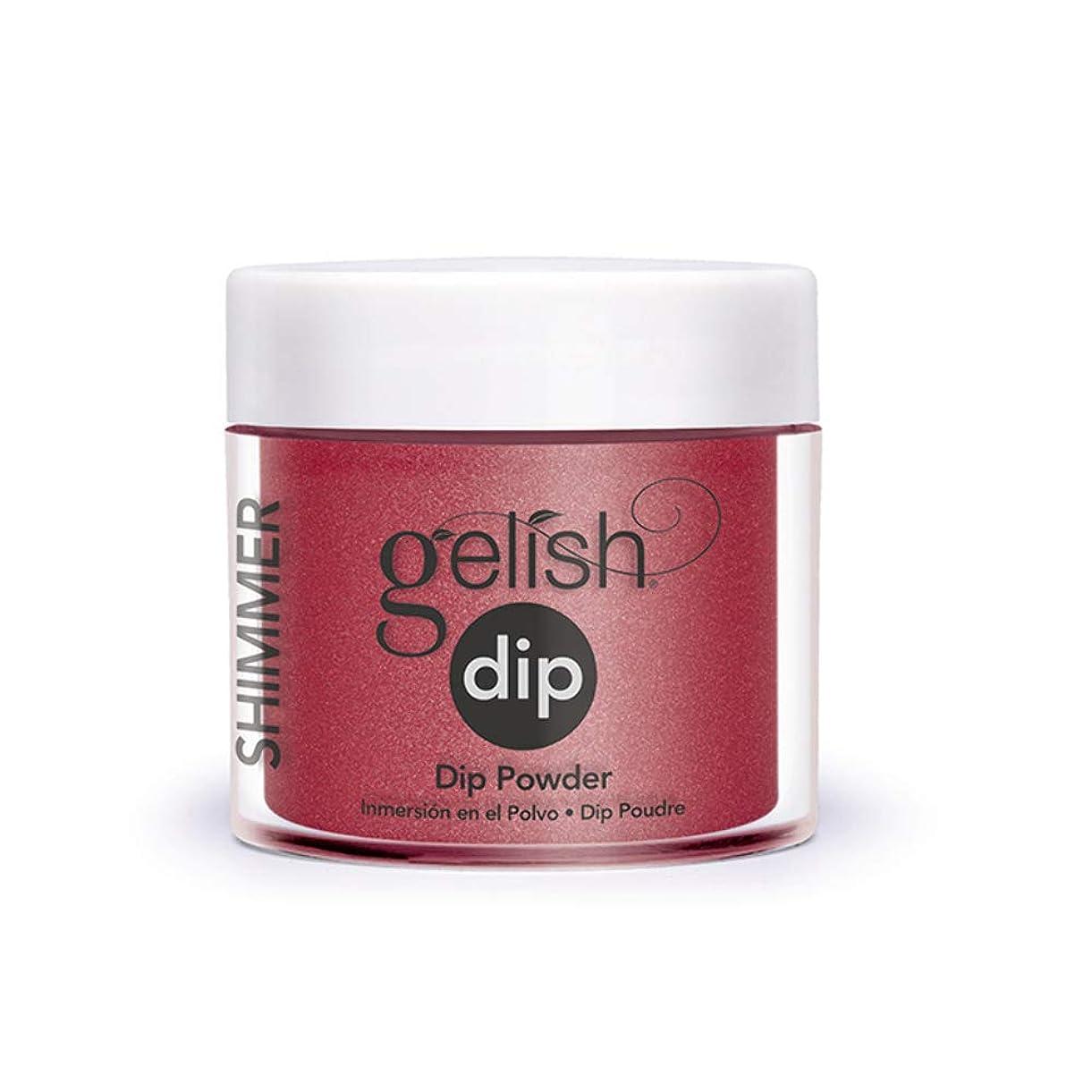 常に役員ぼかしHarmony Gelish - Acrylic Dip Powder - Ruby Two-Shoes - 23g / 0.8oz
