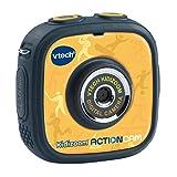 VTech Kidizoom ActionCam - Fotocamera e video per bambini, colore: Nero/Giallo Versione francese Norme Nero/Giallo
