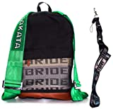 JDM Takata Rucksack-Tasche und Umhängeband für die Braut, Grün