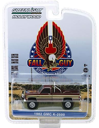 Greenlight 1982 GMC K-2500 Truck Fall Guy EIN Colt für alle Fälle 1:64