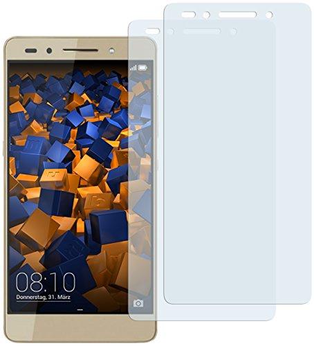 mumbi Schutzfolie kompatibel mit Huawei Honor 7/7 Premium Folie klar, Bildschirmschutzfolie (2X)