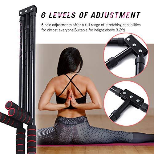 Product Image 4: FIGROL Leg Stretcher Leg Split Stretching Machine Stretching Equipment Flexibility for Ballet, Yoga,Dance, MMA, Taekwondo & Gymnastics(Black)