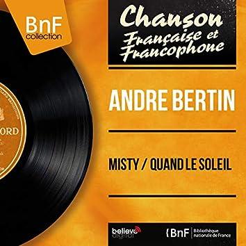 Misty / Quand le soleil (feat. Jo Boyer et son orchestre) [Mono Version]